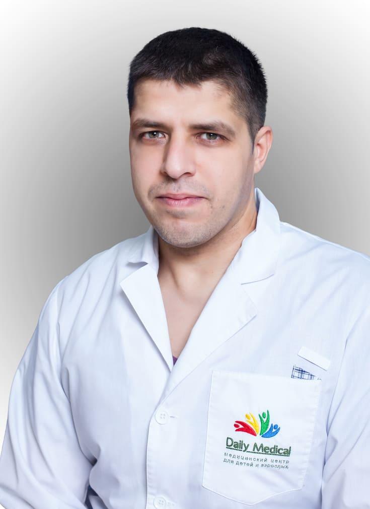 Практикующий сосудистый хирург - Эль-Хажж Махмуд Николаевич